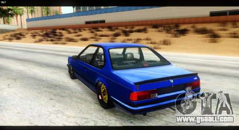 BMW M635 CSi (E24) for GTA San Andreas left view