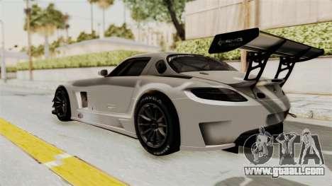 Mercedes-Benz SLS AMG GT3 PJ3 for GTA San Andreas right view