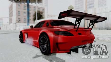Mercedes-Benz SLS AMG GT3 PJ6 for GTA San Andreas left view