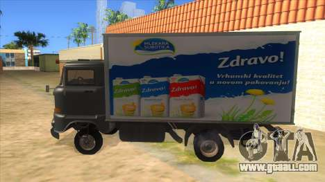 IFA W50 for GTA San Andreas left view