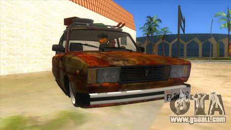 VAZ 2107 Rusty Gringo for GTA San Andreas back view