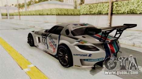 Mercedes-Benz SLS AMG GT3 PJ3 for GTA San Andreas interior