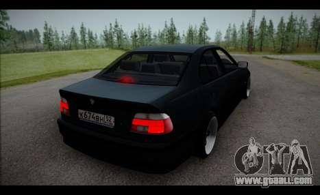 BMW 525i for GTA San Andreas