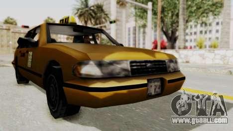 GTA 3 - Taxi for GTA San Andreas right view