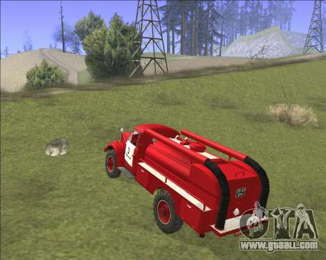 GAZ 63 Fire engine for GTA San Andreas right view