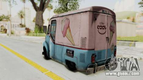 Hitman Absolution - Ice Cream Van for GTA San Andreas left view
