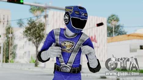 Power Rangers RPM - Blue for GTA San Andreas