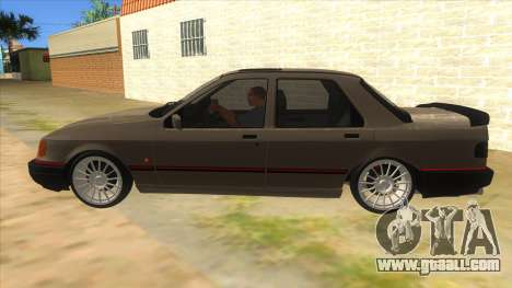 Ford Sierra Sapphire Cosworth for GTA San Andreas left view