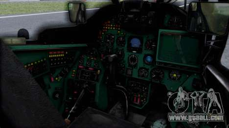 Mi-24V Russian Air Force 46 for GTA San Andreas right view