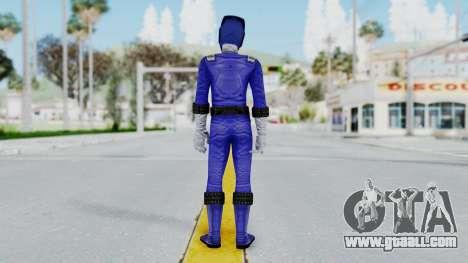 Power Rangers RPM - Blue for GTA San Andreas third screenshot