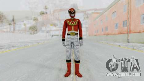 Power Rangers Megaforce - Red for GTA San Andreas second screenshot