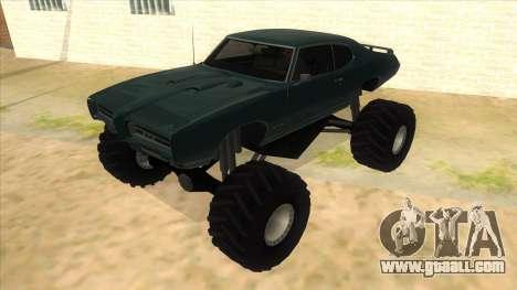 1969 Pontiac GTO Monster Truck for GTA San Andreas