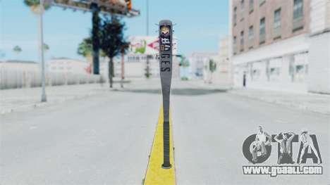 Nail Baseball Bat v5 for GTA San Andreas second screenshot