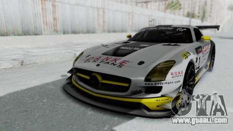 Mercedes-Benz SLS AMG GT3 PJ6 for GTA San Andreas bottom view