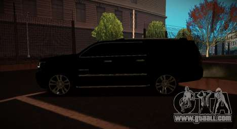 2015 Chevrolet Suburban Prosecutor's Office for GTA San Andreas left view