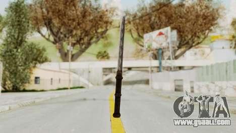 Skyrim Iron Tanto for GTA San Andreas second screenshot