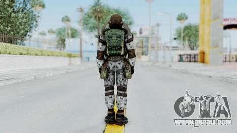Monolith Scientific Suit for GTA San Andreas third screenshot