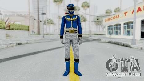 Power Rangers Megaforce - Blue for GTA San Andreas second screenshot