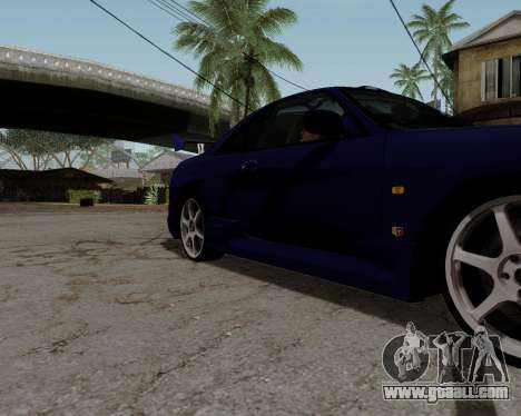 Nissan R33 GT-R Tunable for GTA San Andreas wheels