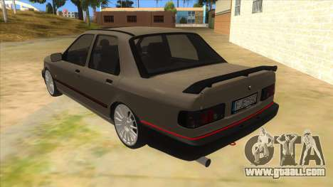 Ford Sierra Sapphire Cosworth for GTA San Andreas back left view