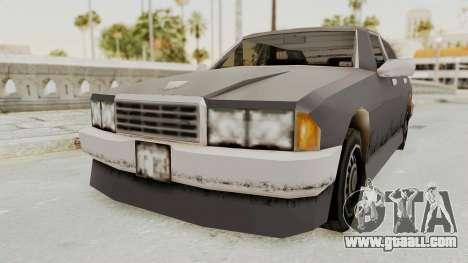 GTA 3 Mafia Sentinel for GTA San Andreas right view
