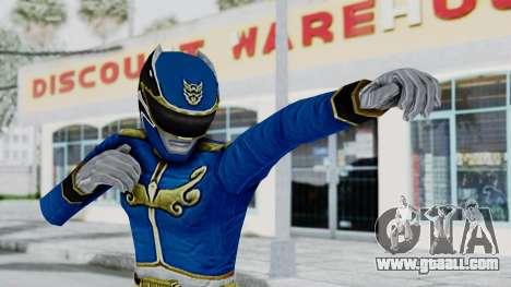 Power Rangers Megaforce - Blue for GTA San Andreas