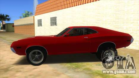 1972 Ford Gran Torino Drag for GTA San Andreas left view