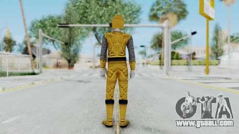 Power Rangers Ninja Storm - Yellow for GTA San Andreas third screenshot