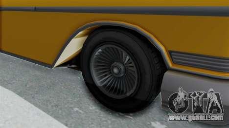 GTA 5 Declasse Tornado Bobbles and Plaques IVF for GTA San Andreas back view