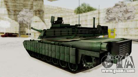 M1A2 Abrams Woodland Croatian for GTA San Andreas left view