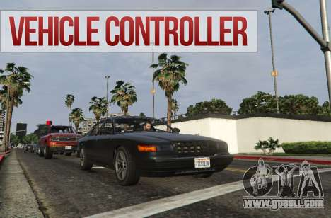 Vehicle Controller for GTA 5