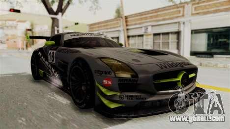 Mercedes-Benz SLS AMG GT3 PJ3 for GTA San Andreas engine