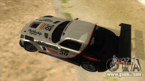Mercedes Benz SLS AMG GT3 for GTA San Andreas side view