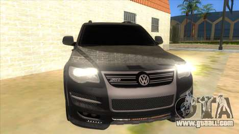 Volkswagen Touareg HQ for GTA San Andreas back view