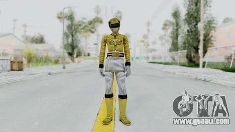 Power Rangers Megaforce - Yellow for GTA San Andreas second screenshot