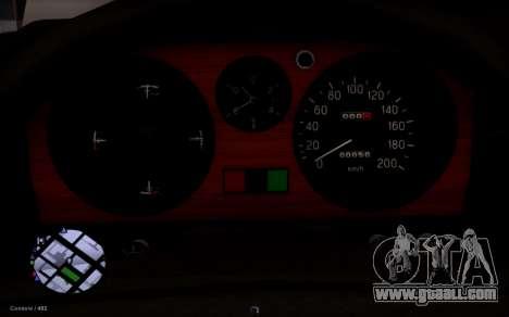 GAZ 31029 Volga for GTA San Andreas back view