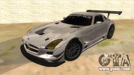 Mercedes Benz SLS AMG GT3 for GTA San Andreas