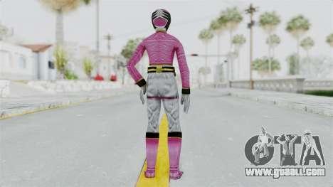 Power Rangers Samurai - Pink for GTA San Andreas third screenshot