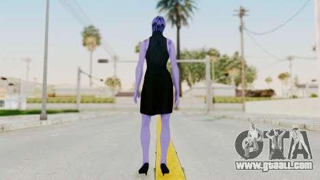 Mass Effect 3 Aria TLoak Gunn Dress for GTA San Andreas third screenshot