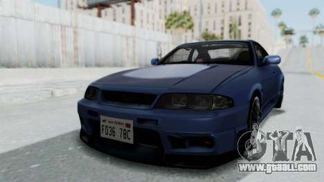 Nissan Skyline R33 GT-R V-Spec 1995 for GTA San Andreas