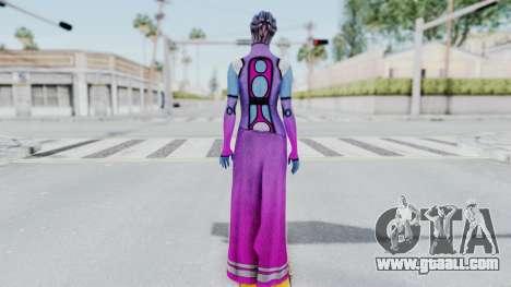 Mass Effect 1 Shaira Dress for GTA San Andreas third screenshot