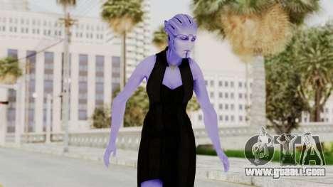 Mass Effect 3 Aria TLoak Gunn Dress for GTA San Andreas