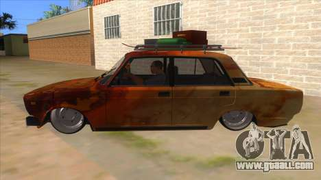VAZ 2107 Rusty Gringo for GTA San Andreas left view