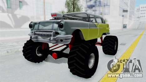 Pontiac Safari 1956 Monster Truck for GTA San Andreas right view