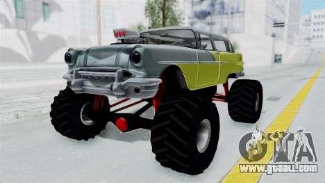 Pontiac Safari 1956 Monster Truck for GTA San Andreas right view