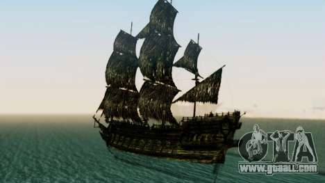 Flying Dutchman 3D for GTA San Andreas left view