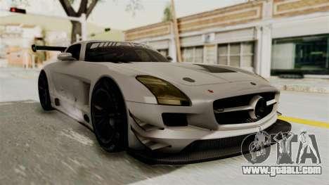 Mercedes-Benz SLS AMG GT3 PJ3 for GTA San Andreas back left view