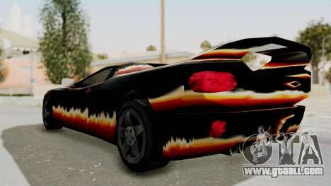 GTA 3 Diablos Infernus for GTA San Andreas left view
