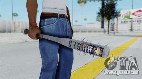 Nail Baseball Bat v5 for GTA San Andreas third screenshot