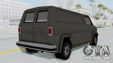 Burrito from Manhunt 2 for GTA San Andreas left view